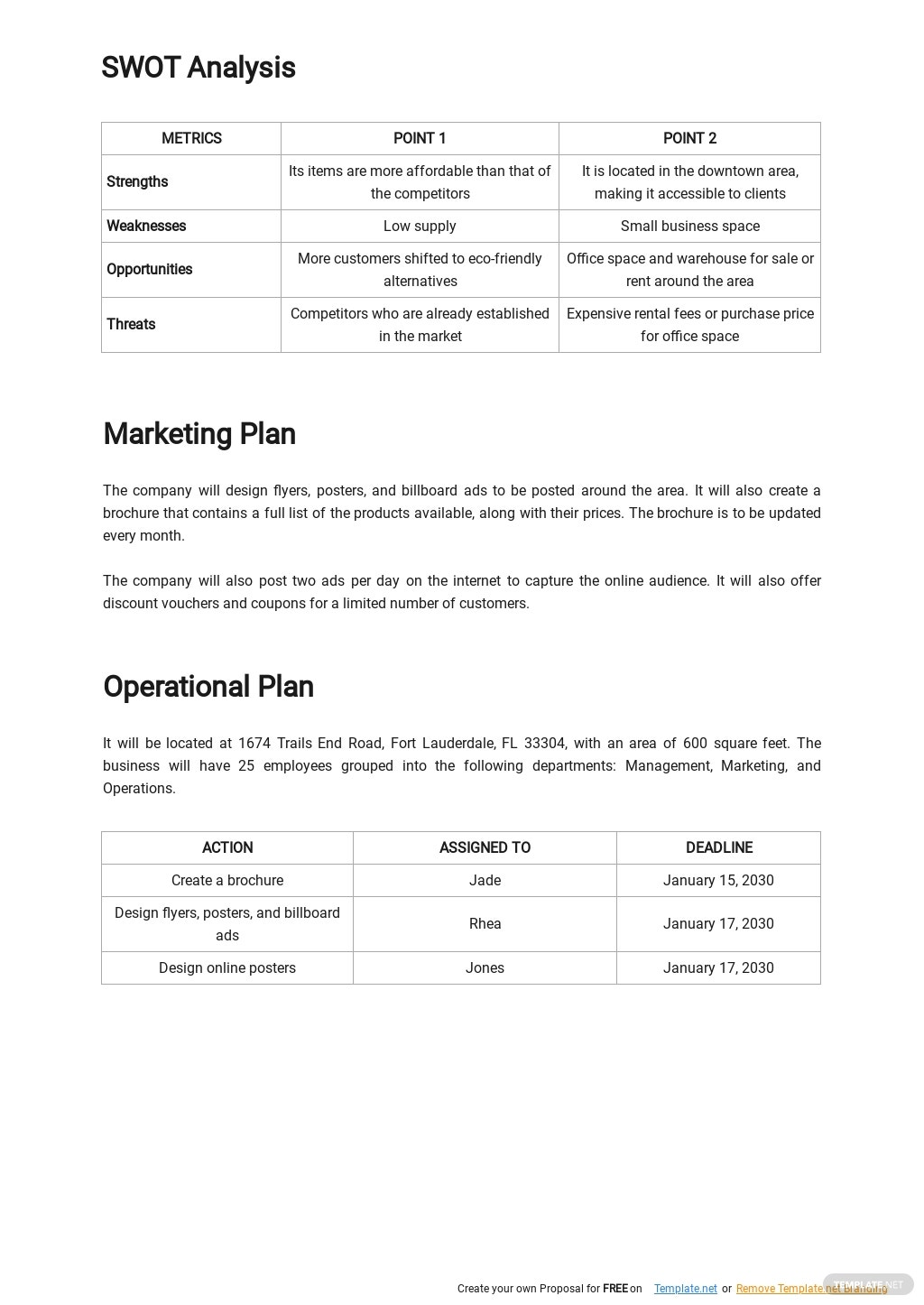 Product Business Plan Template 2.jpe
