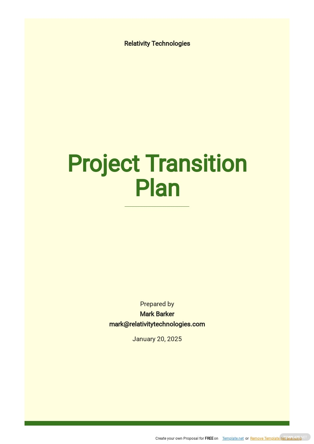 FREE Project Management Plan Templates in PDF   Template.net