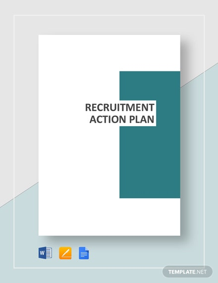 Recruitment Action Plan Template
