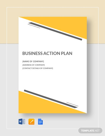 Small Business Action Plan Template