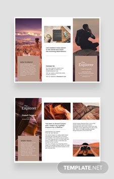 apple pages brochure templates - free a5 brochure template in psd ms word publisher