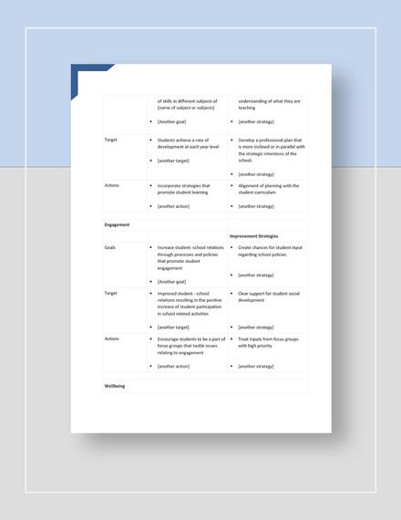 School Strategic Plan Download