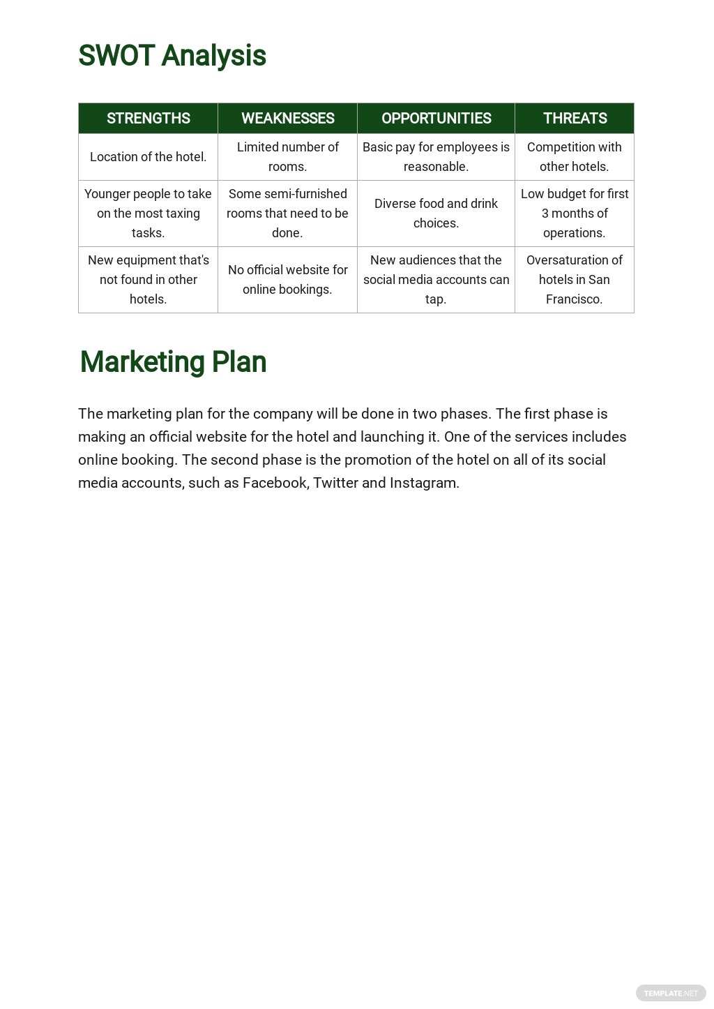 Small Hotel Business Plan Template 3.jpe