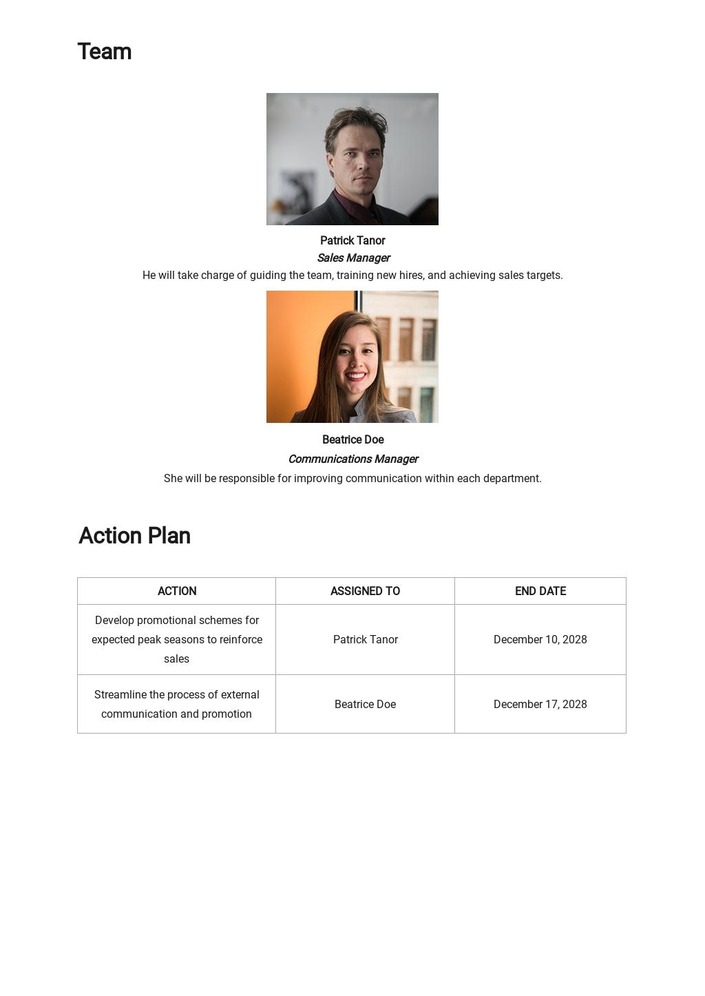 Simple Strategic Communication Plan Template 2.jpe