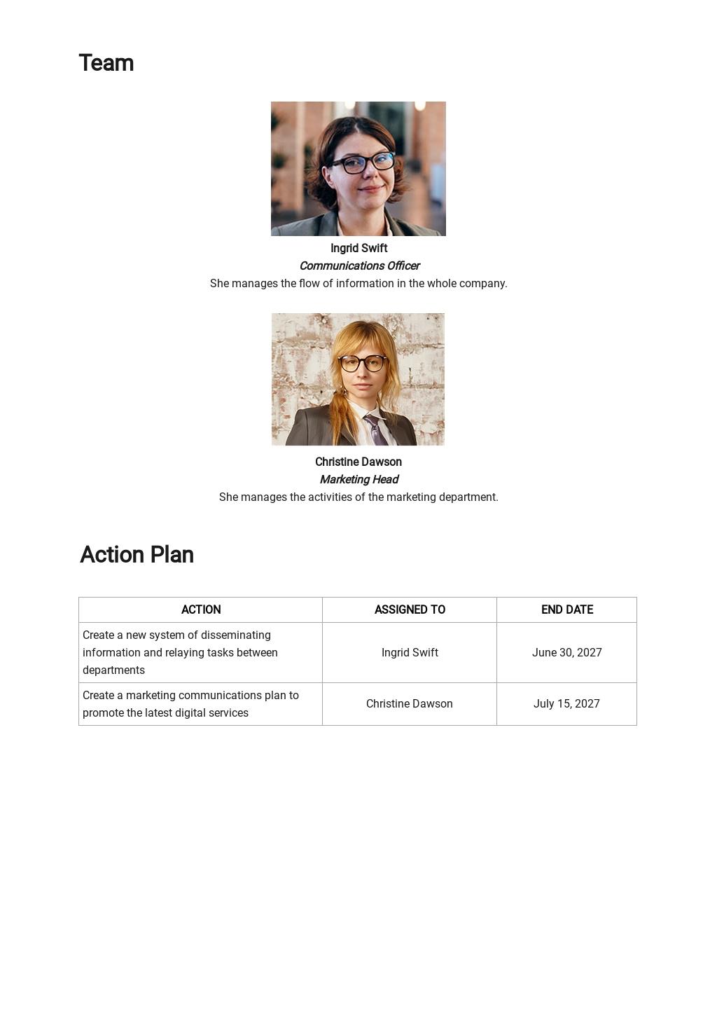 Strategic Communications Plan Template [Free PDF] - Google Docs, Word, PDF