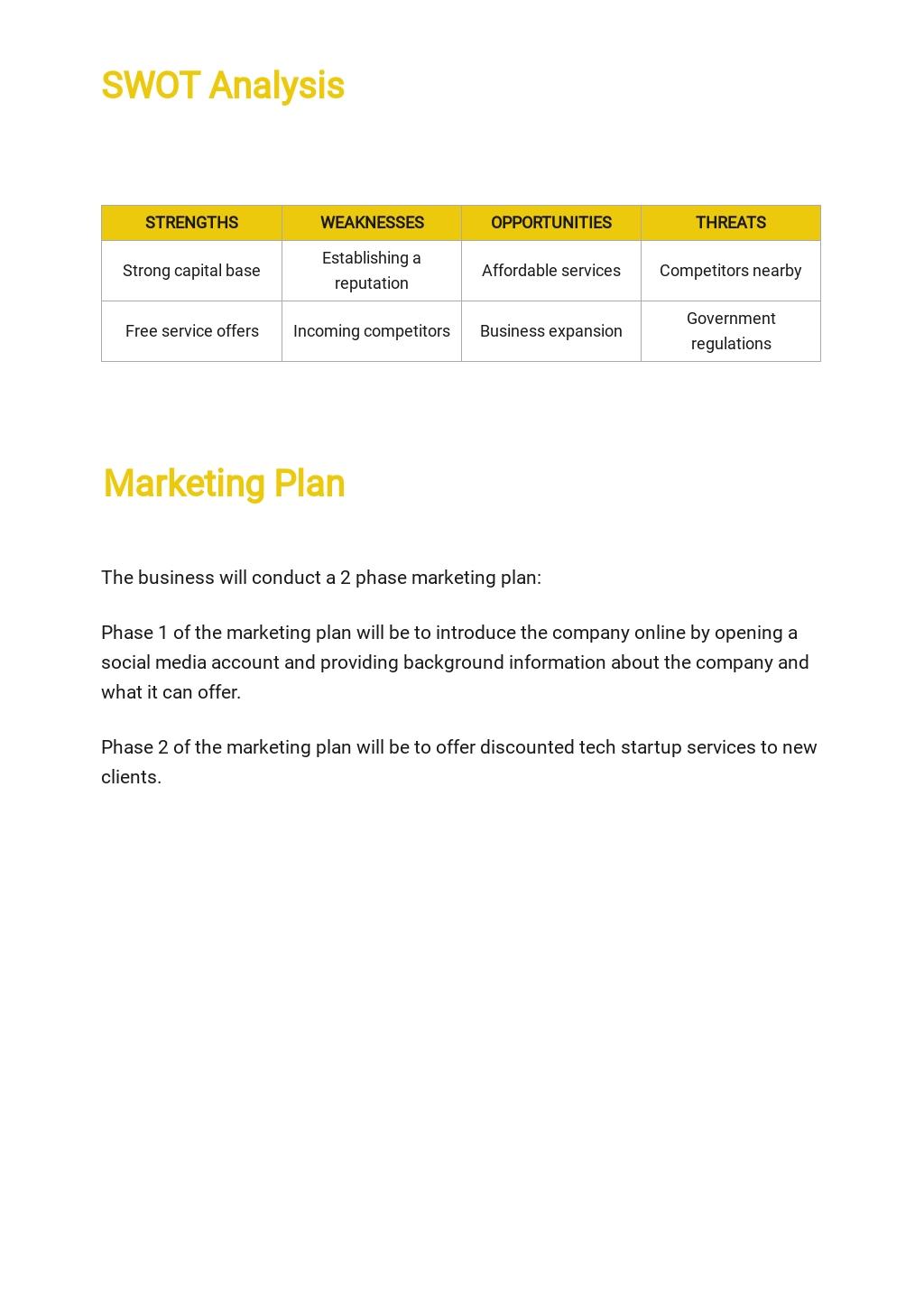 Tech Startup Business Plan Template 3.jpe