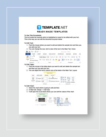 Tech Startup Business Plan Template Word Google Docs