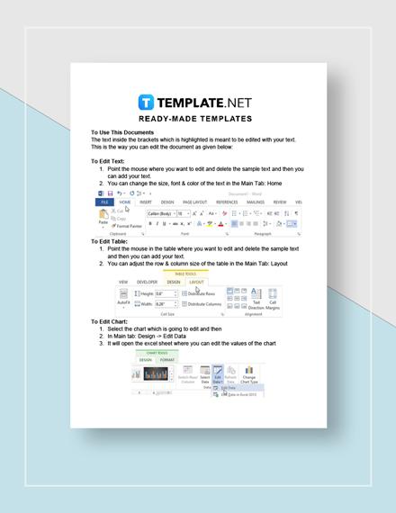 Test Plan Instructions