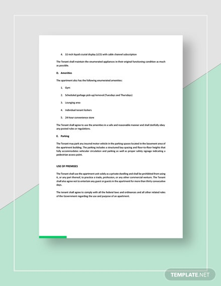 Apartment Rental Contract Download