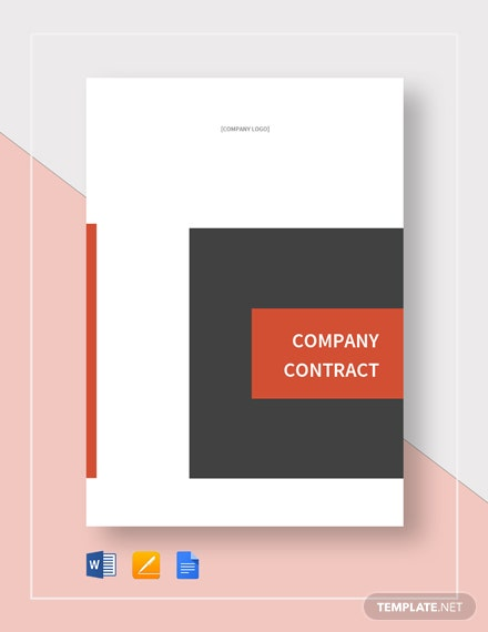Company Contract Template