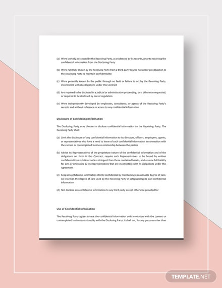 Company Contract Download