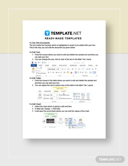 IT Company Contract Instructions