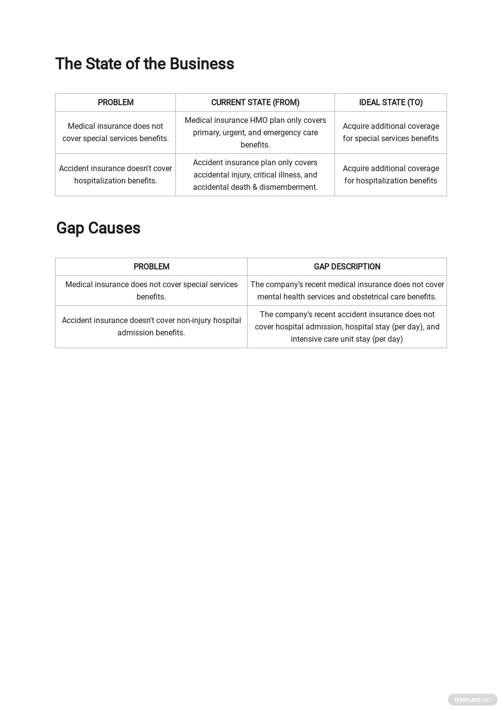 Insurance Needs Analysis Template [Free PDF] - Google Docs, Google Sheets, Word