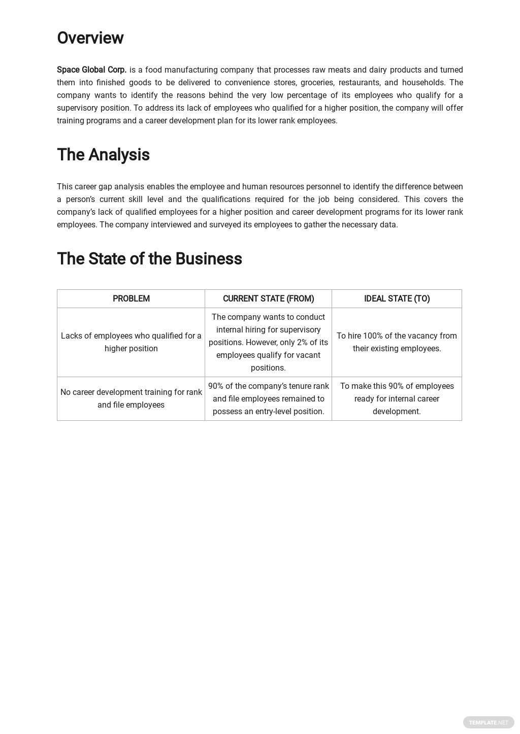 Career Gap Analysis Template 1.jpe