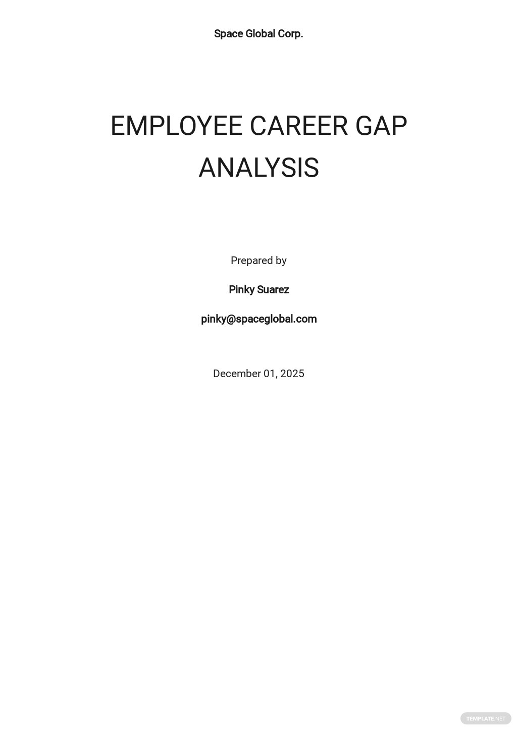 Career Gap Analysis Template.jpe
