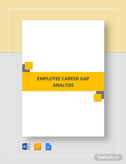 Career Gap Analysis Template