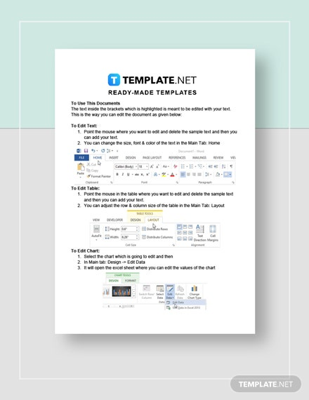 Event Cost Analysis Template Instructions