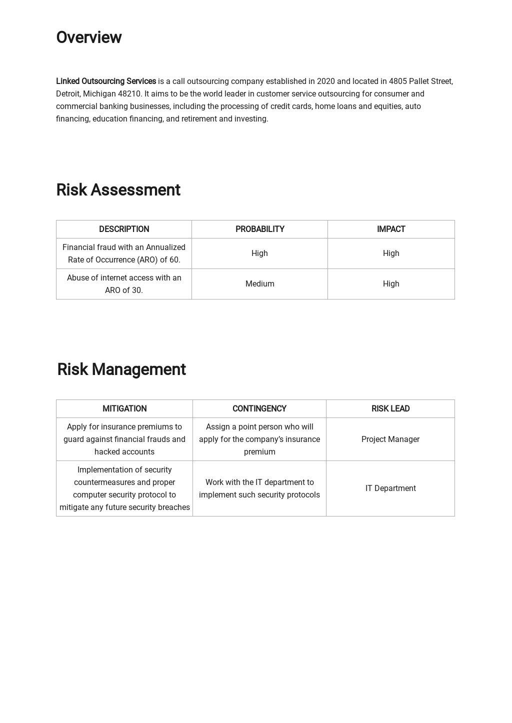 Quantitative Risk Analysis Template 1.jpe
