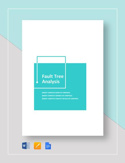 Fault Tree Analysis Example