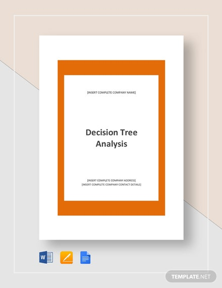 Example of Decision Tree Analysis