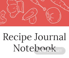 Free Recipe Journal Template