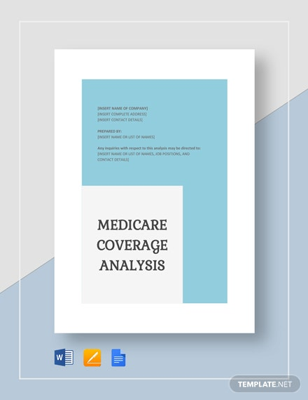 Medicare Coverage Analysis Template