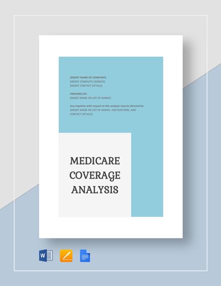 Medicare Coverage Analysis