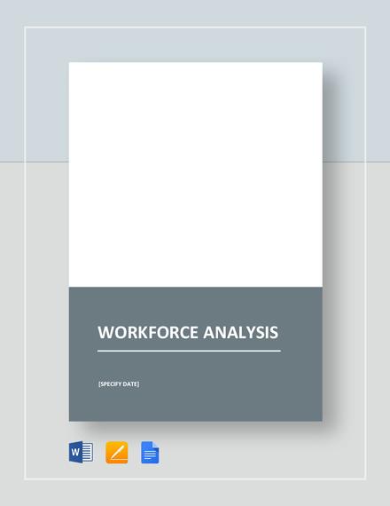Workforce Analysis