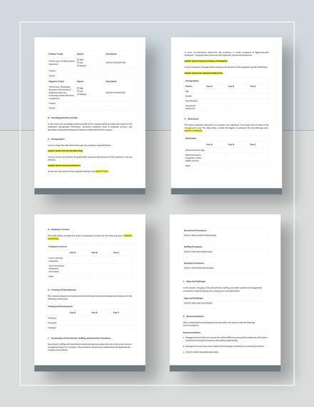 Workforce Analysis Download