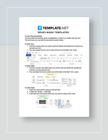 Workforce Analysis Instructions