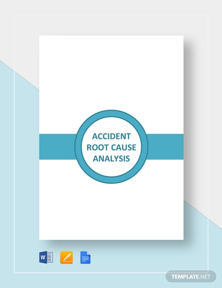 Accident Root Cause Analysis Template