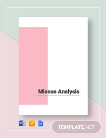 Miscue Analysis Template