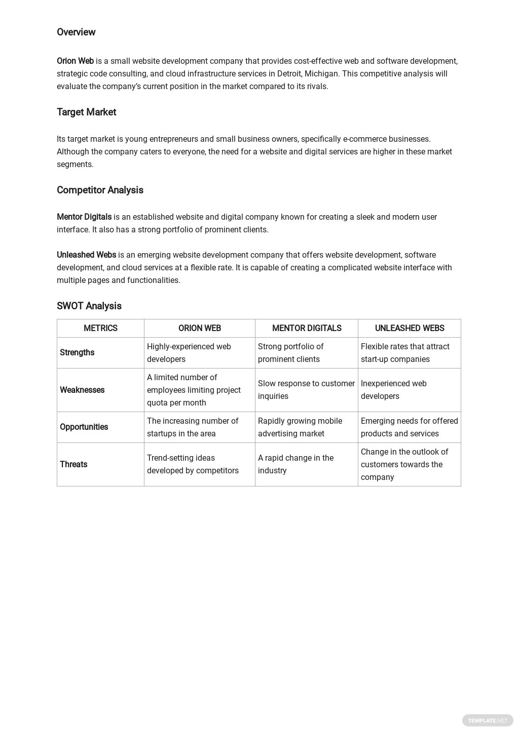 Small Business Competitive Analysis Template 1.jpe