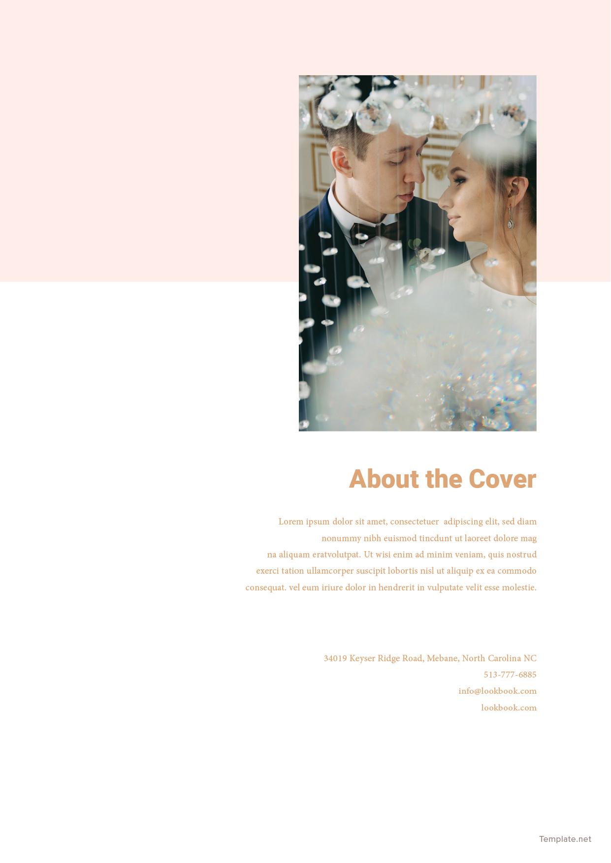 Bridal Wedding Magazine Template 10