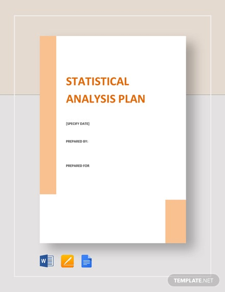 Statistical Analysis Plan Template