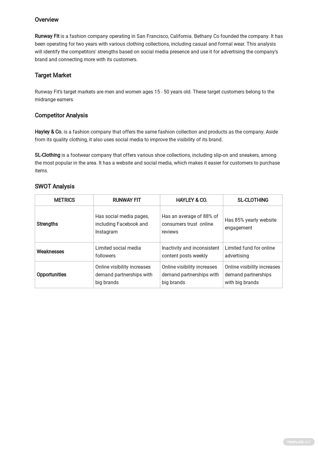 Social Media Competitive Analysis Template 1.jpe