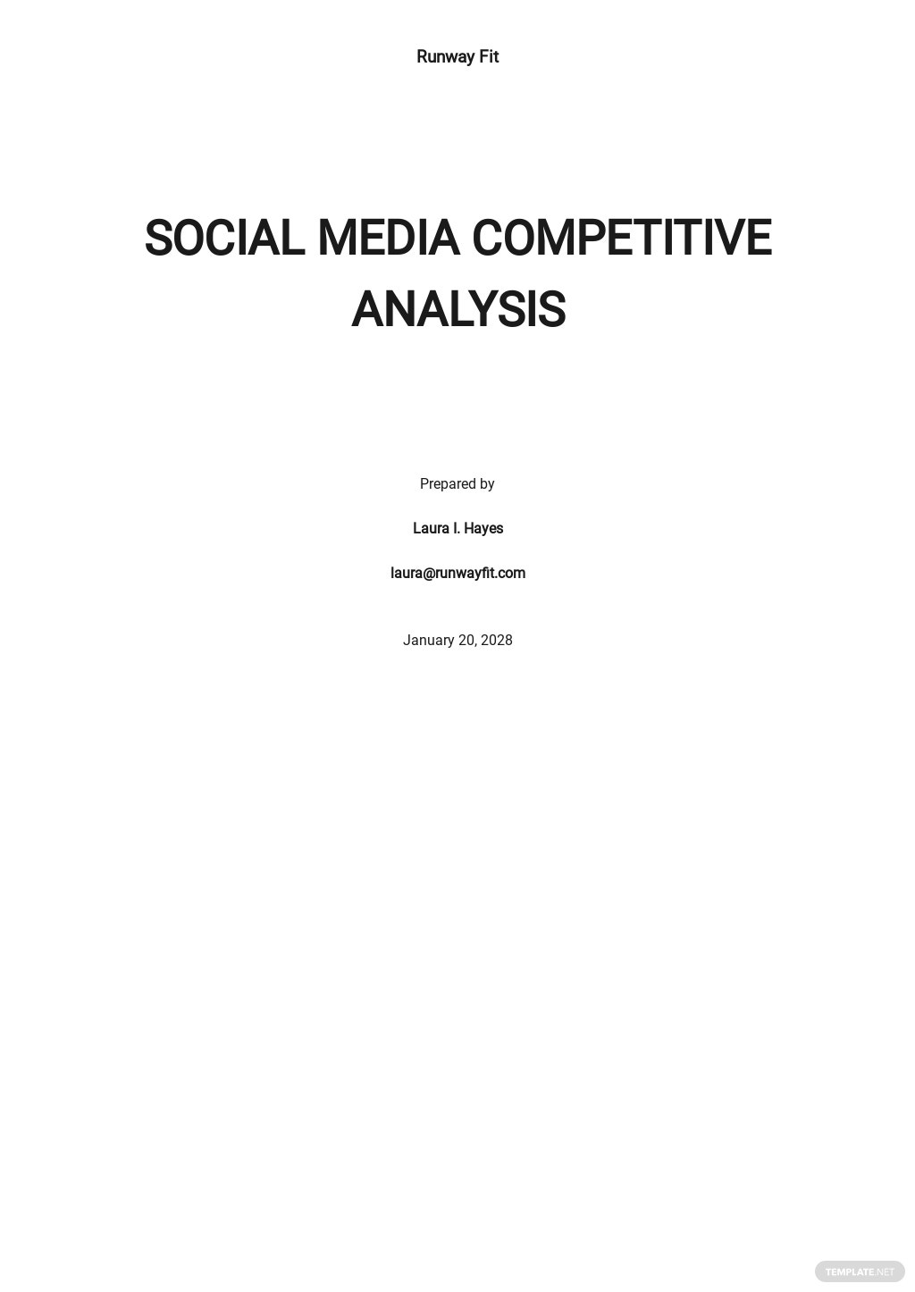 Social Media Competitive Analysis Template.jpe