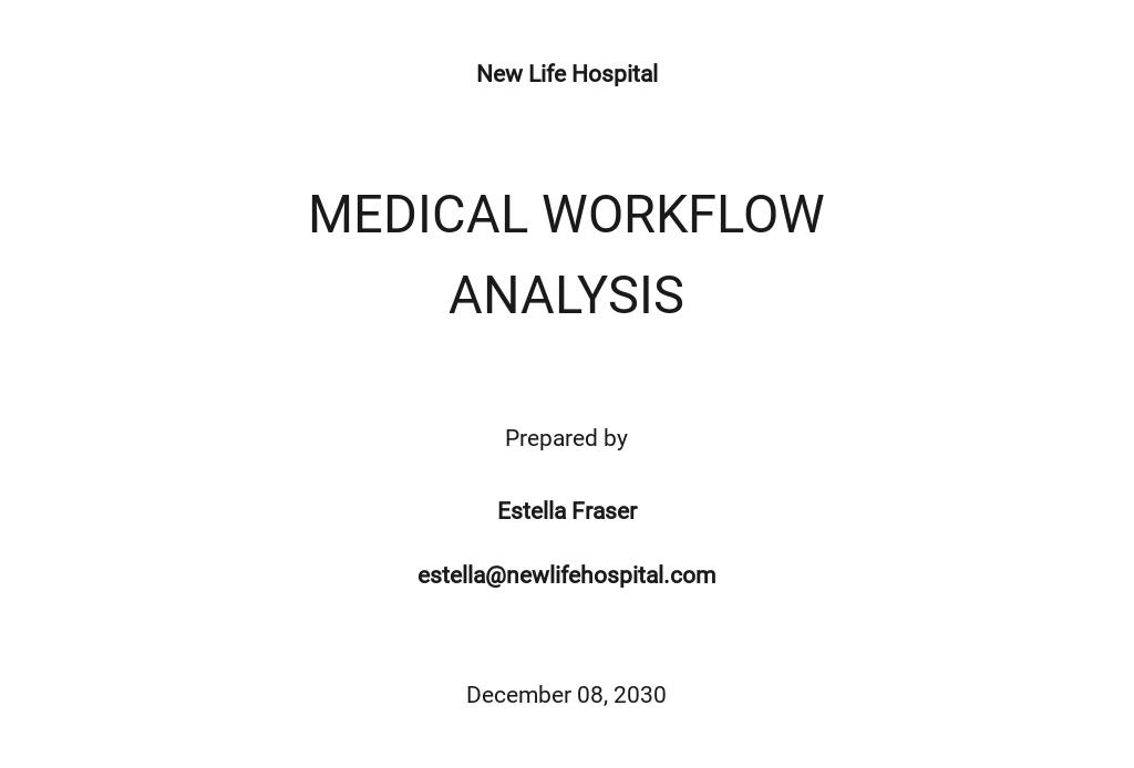 Workflow Analysis Template