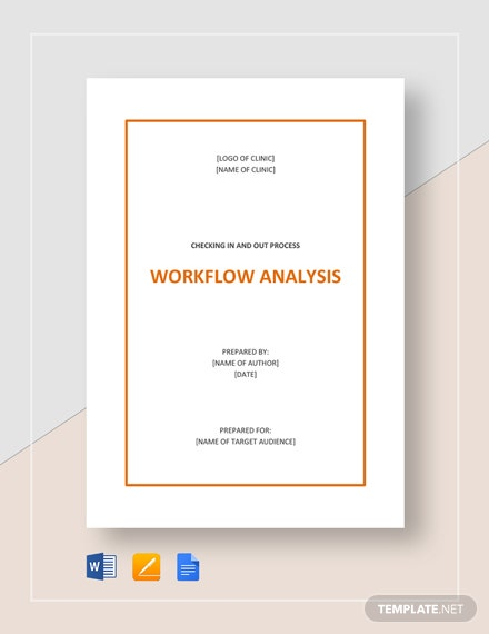 Workflow Analysis Template