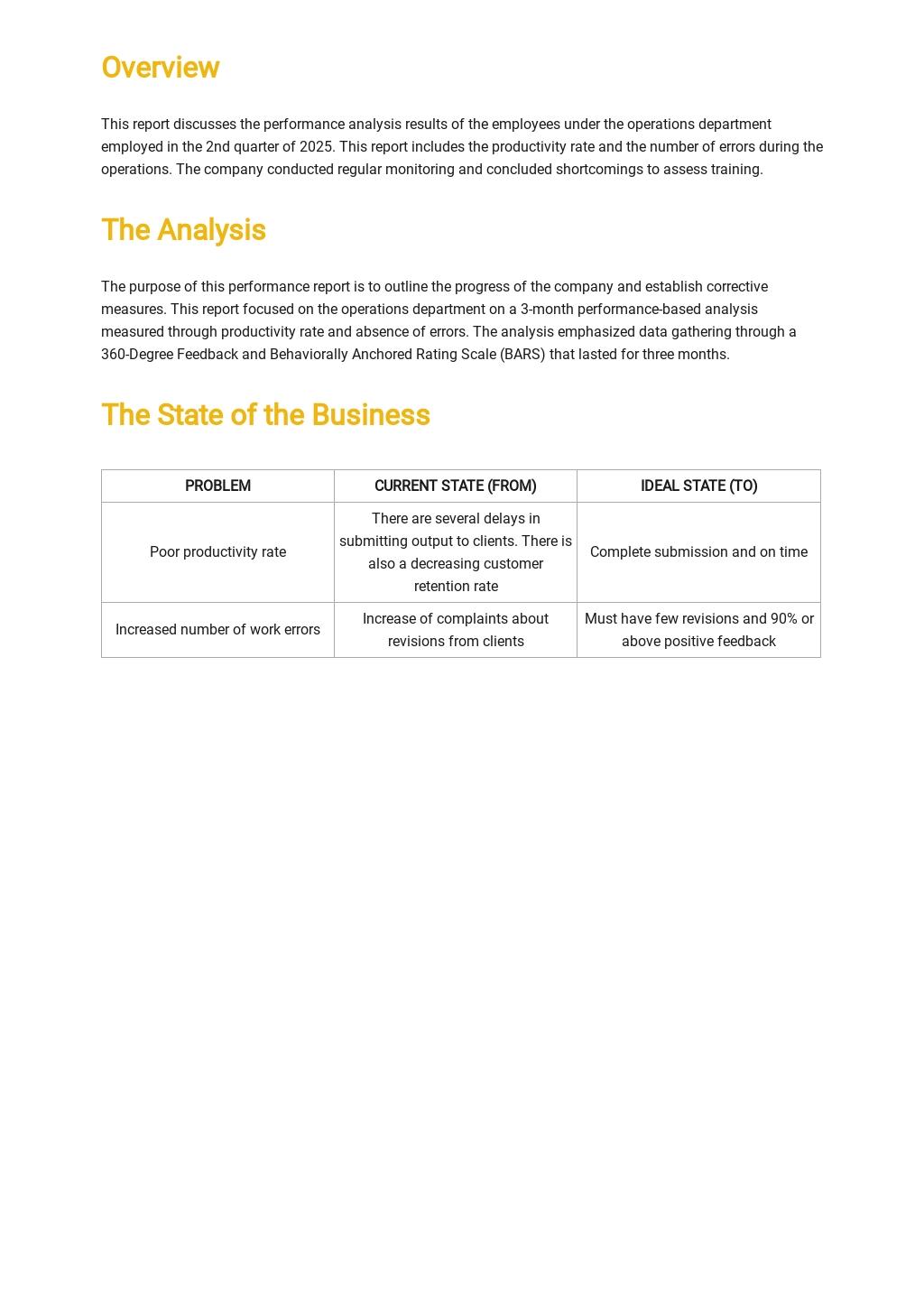 Performance Analysis Report Template 1.jpe