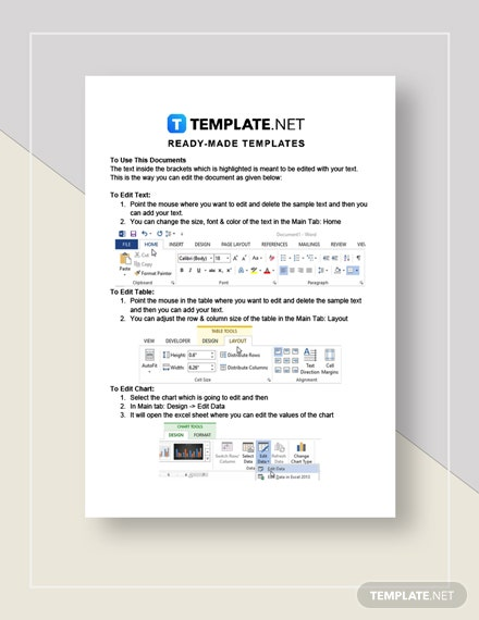 Simple HR Cost Benefit Analysis Instructions