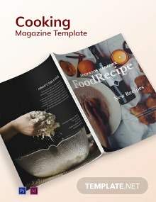 Cooking Magazine Template