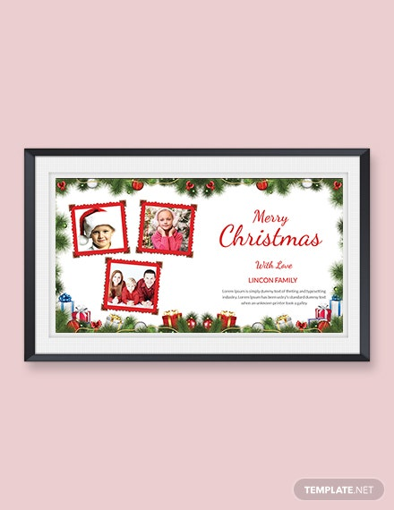Creative Christmas Photo Card