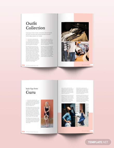 FREE Fashion Magazine Template: Download 45+ Magazines in