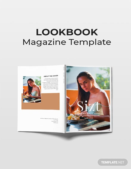 Free Lookbook Magazine Template