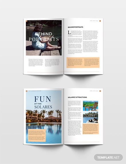 free lookbook magazine template download 36 magazines in