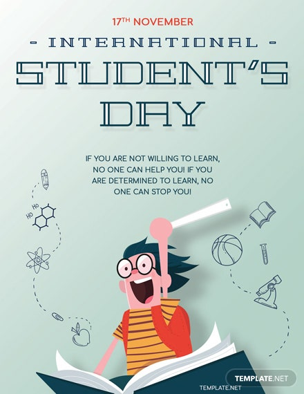 International Students' Day Greeting Card