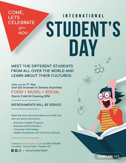 international student day flyer 440 1