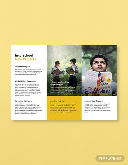 free education trifold brochure template download 151 brochures in