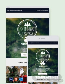 Free Merry Christmas Newsletter Template